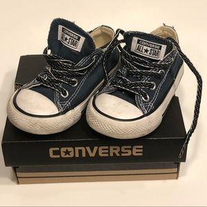 🌸Converse All Star Infant Size 6 Navy Blue